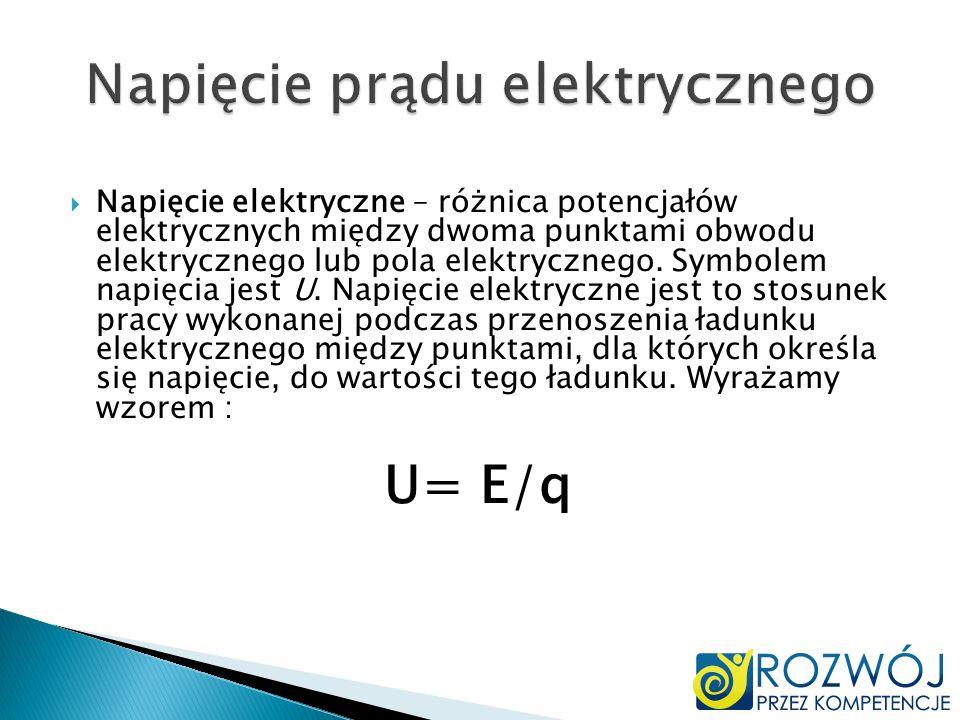 Napięcie prądu elektrycznego