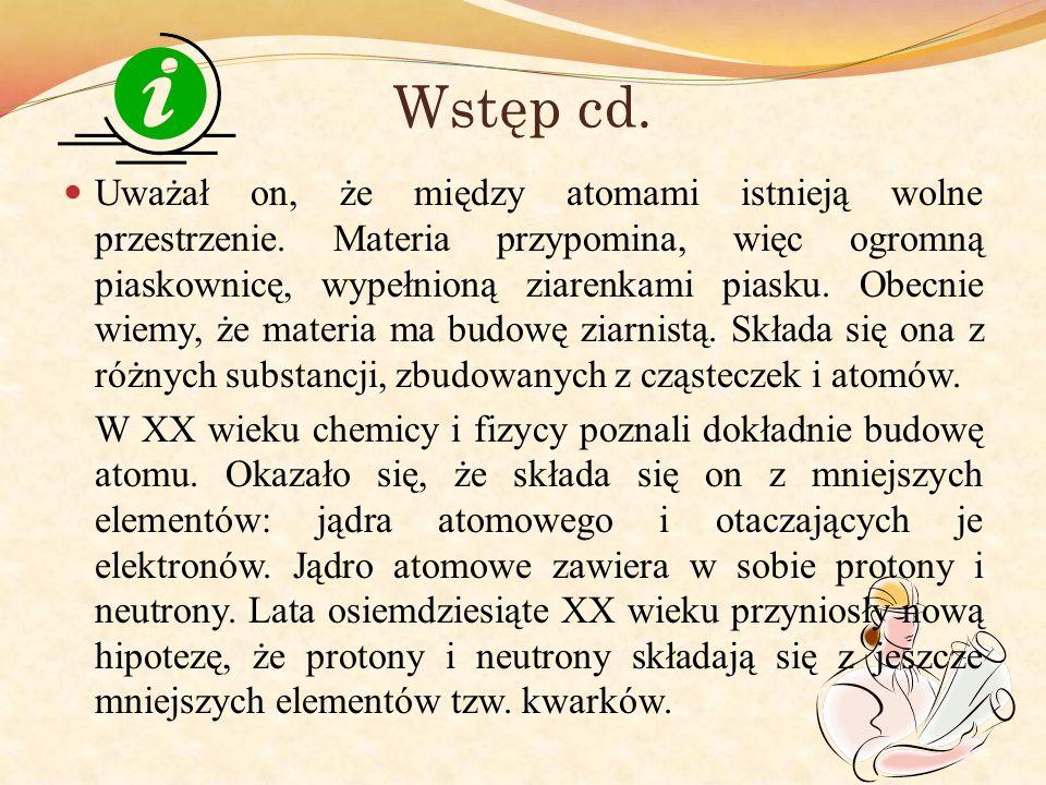 Wstęp cd.