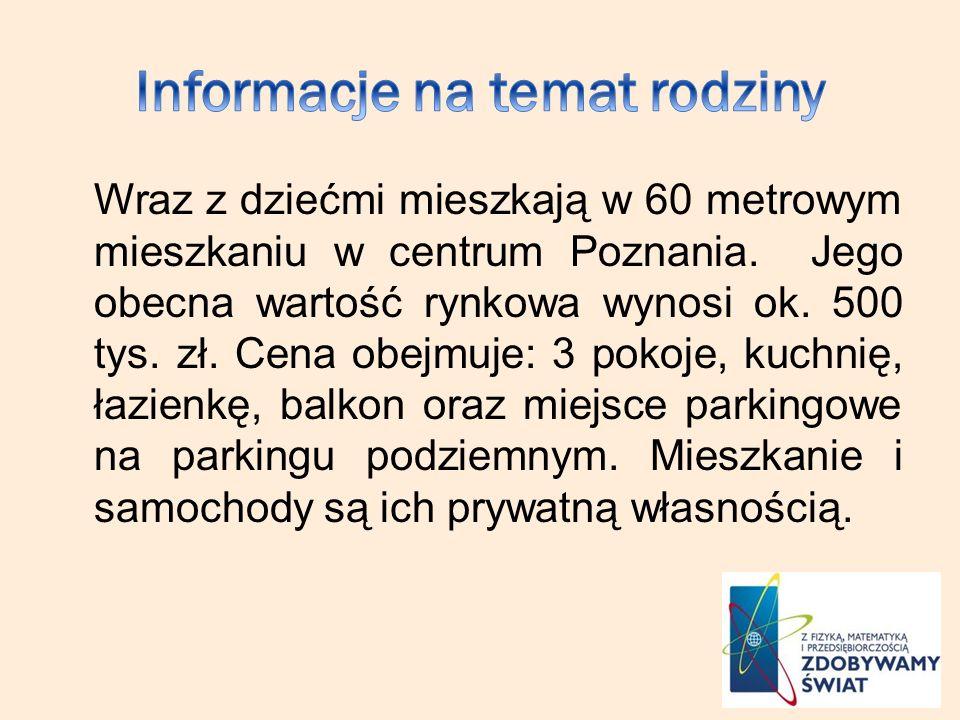 Informacje na temat rodziny