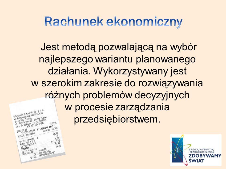 Rachunek ekonomiczny