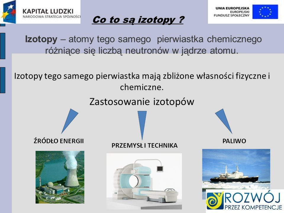 Zastosowanie izotopów