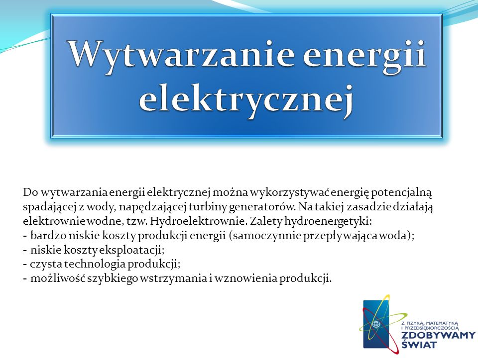 Wytwarzanie energii elektrycznej