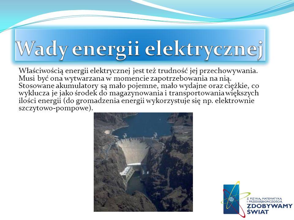 Wady energii elektrycznej