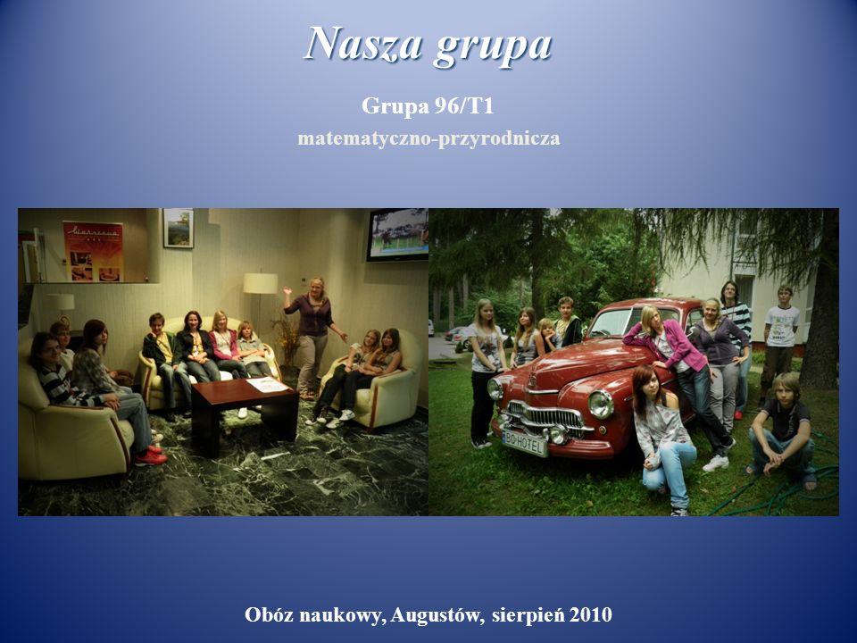 matematyczno-przyrodnicza Obóz naukowy, Augustów, sierpień 2010