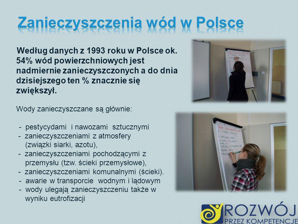 Zanieczyszczenia wód w Polsce