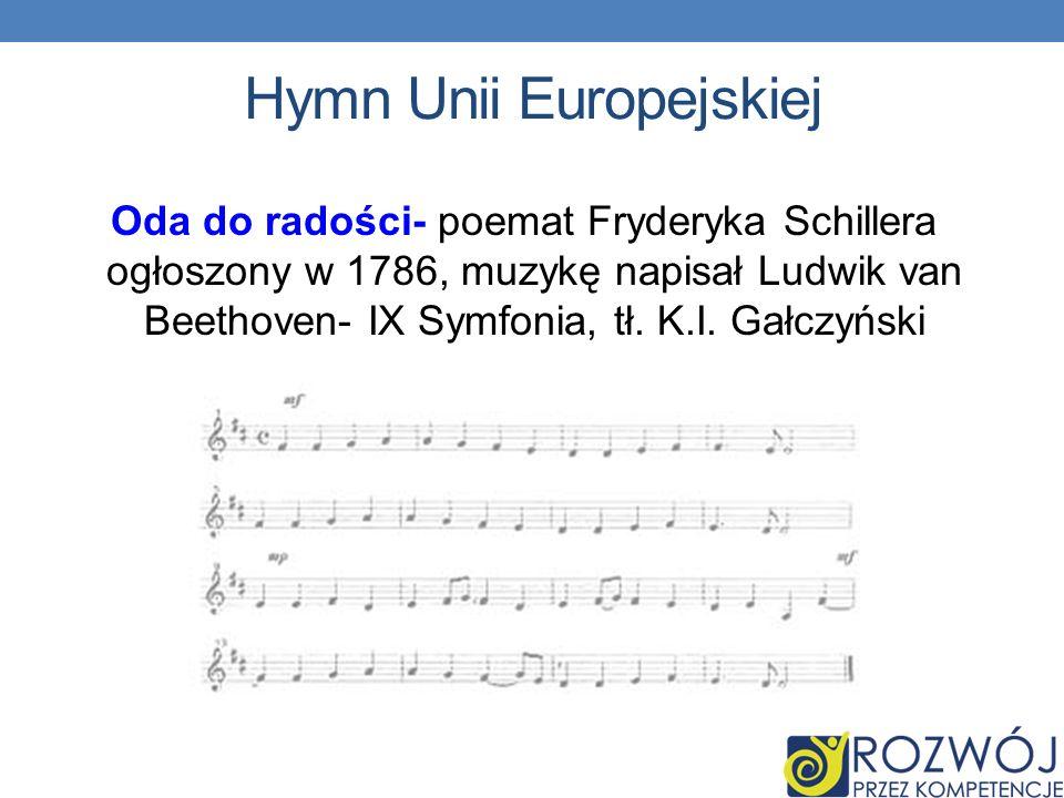 Hymn Unii Europejskiej
