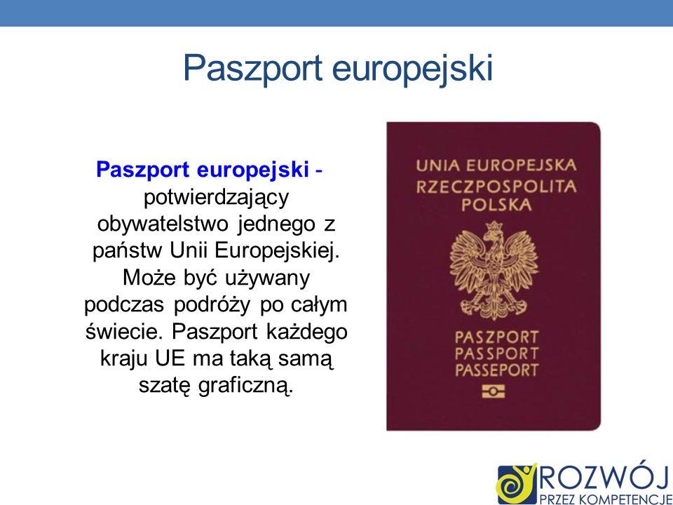Paszport europejski