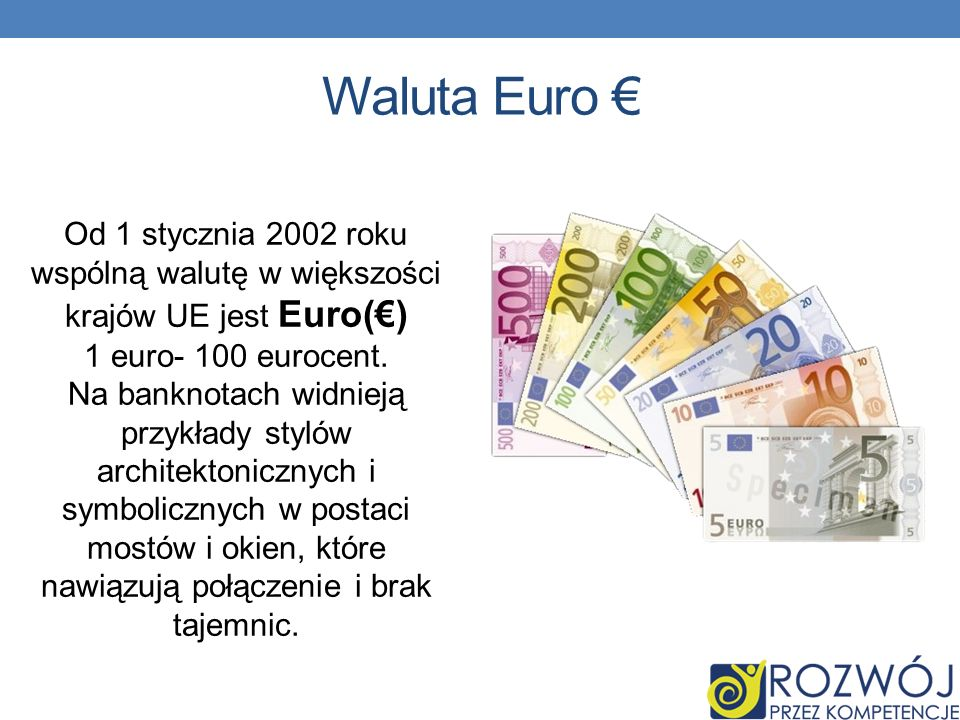 Waluta Euro €
