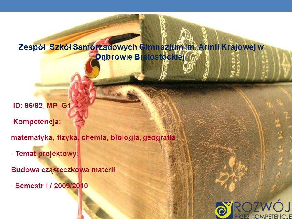 Zespół Szkół Samorządowych Gimnazjum im