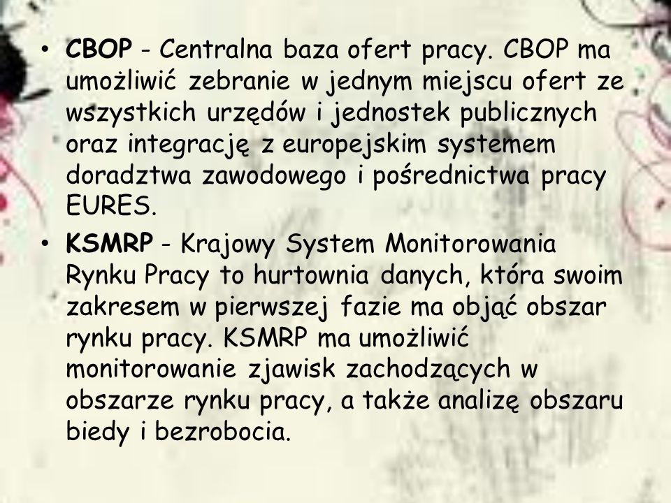 CBOP - Centralna baza ofert pracy