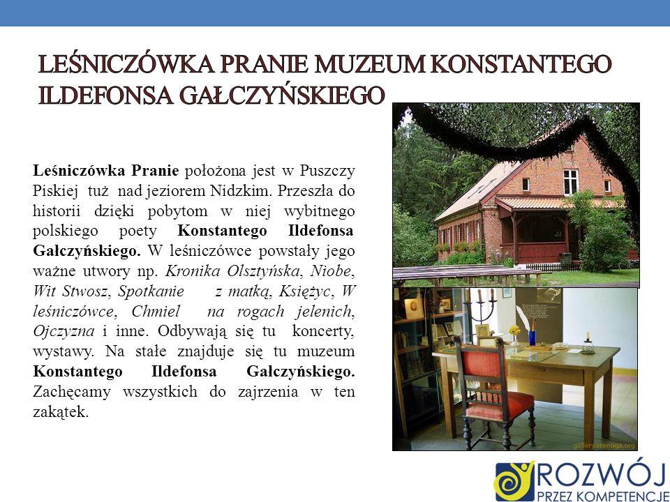 LEŚNICZÓWKA PRANIE muzeum Konstantego Ildefonsa Gałczyńskiego