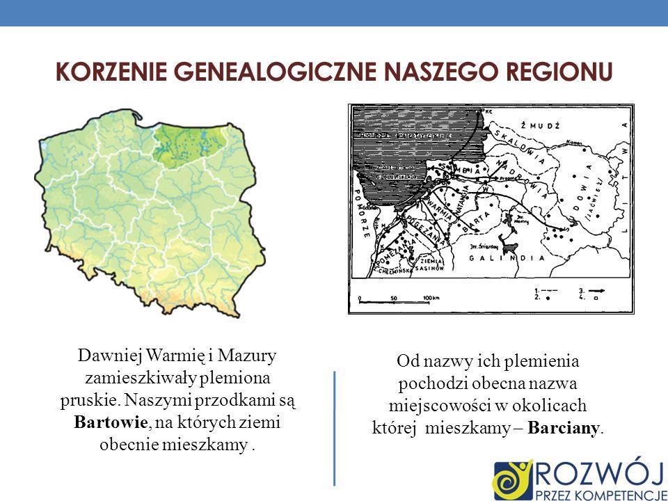 Korzenie genealogiczne naszego regionu