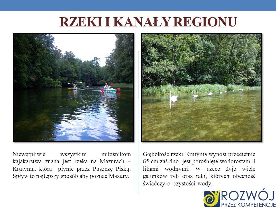 Rzeki i kanały regionu