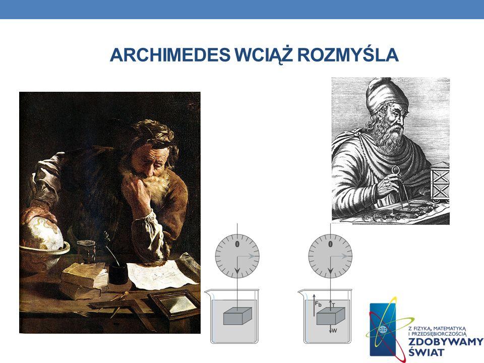 Archimedes wciąż rozmyśla