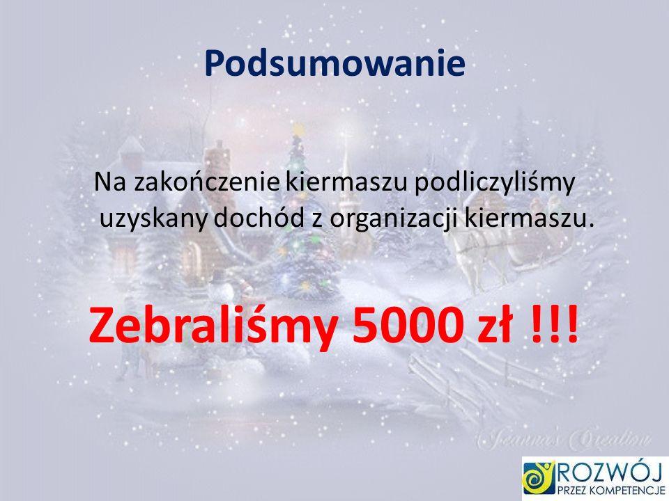 Zebraliśmy 5000 zł !!! Podsumowanie