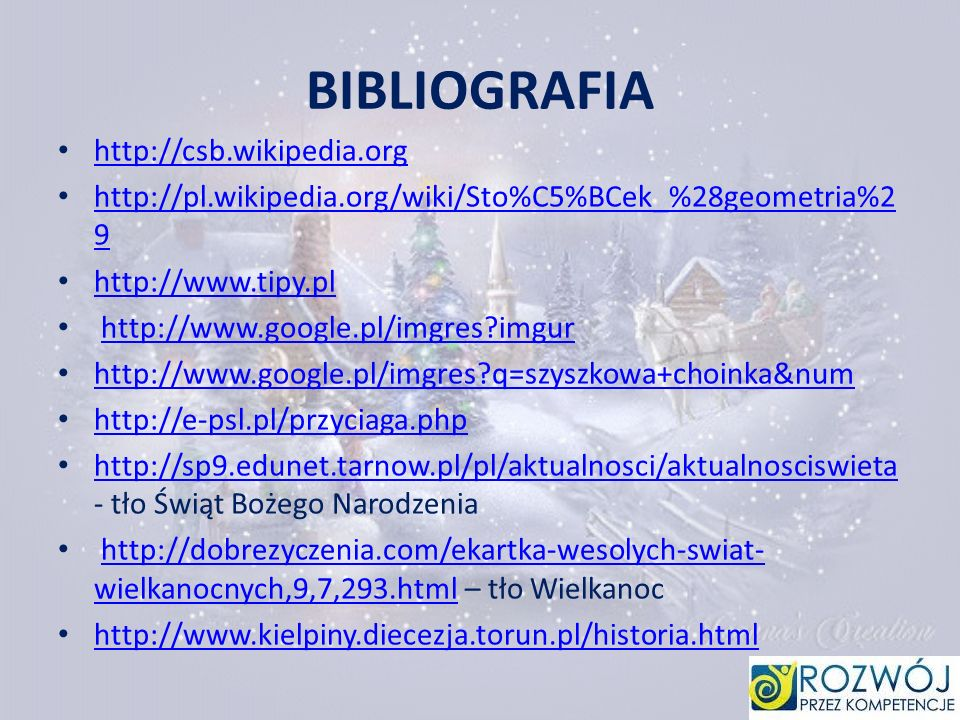 BIBLIOGRAFIA http://csb.wikipedia.org
