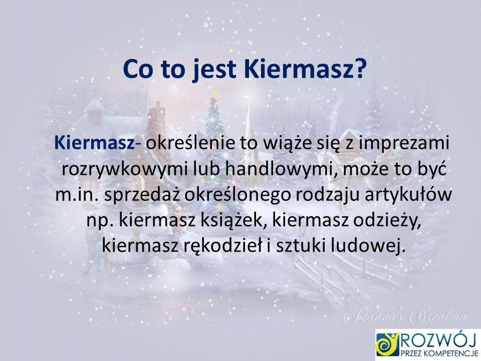 Co to jest Kiermasz