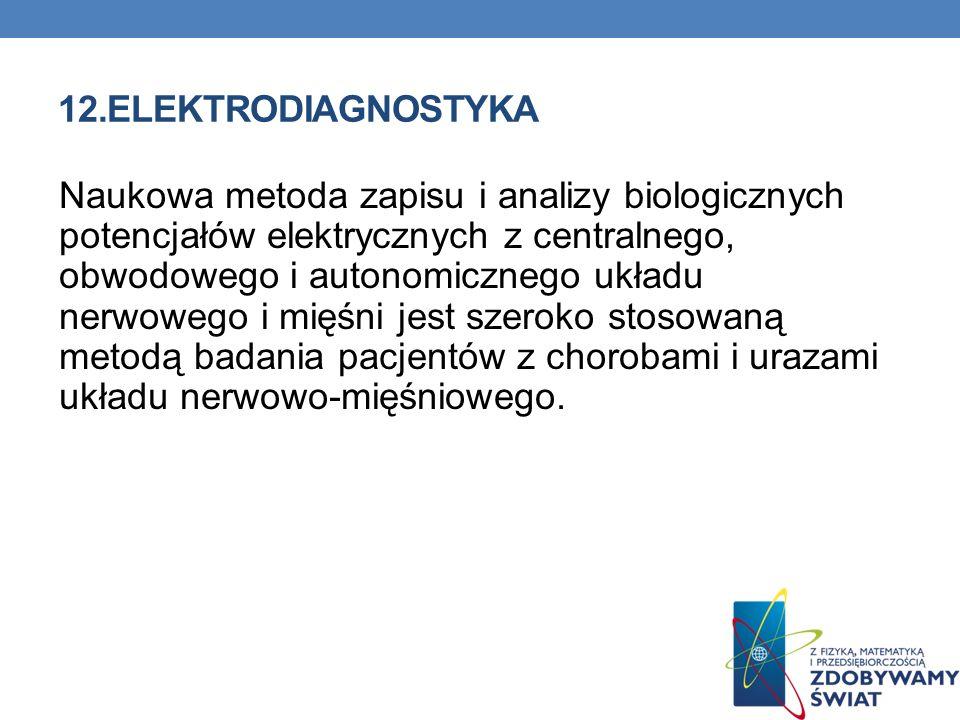 12.ELEKTRODIAGNOSTYKA