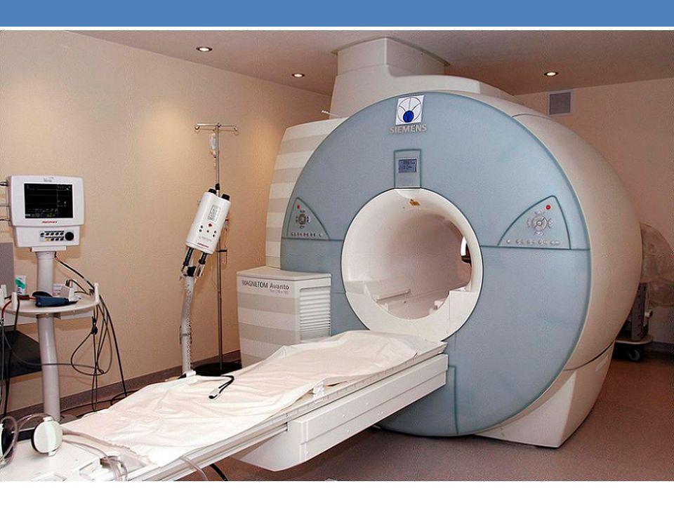Badanie rezonansem magnetycznym (w skrócie nazywane MR lub MRI) wykorzystuje oddziaływanie fal o częstotliwości radiowej na protony, które znajdują się w polu magnetycznym i rejestruje związane z tym zjawiska energetyczne.
