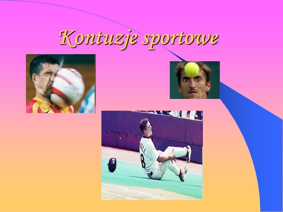Kontuzje sportowe