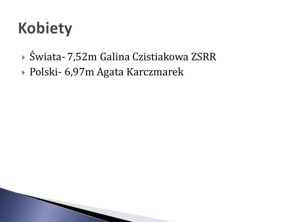 Kobiety Świata- 7,52m Galina Czistiakowa ZSRR