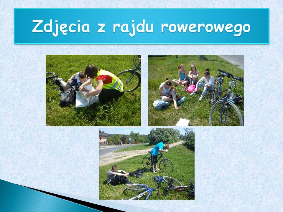 Zdjęcia z rajdu rowerowego