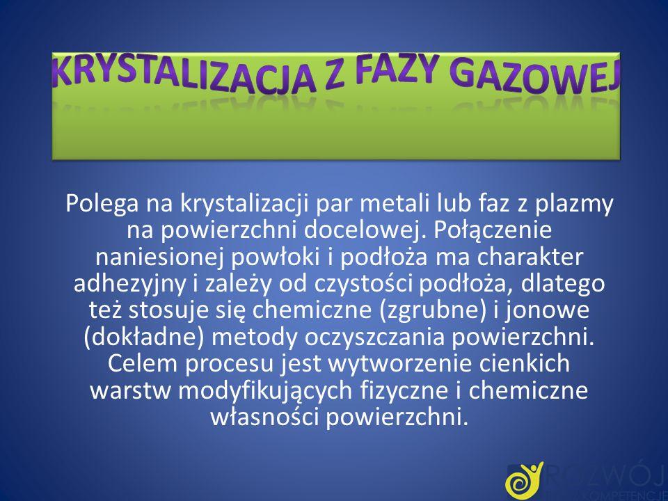 Krystalizacja z fazy gazowej
