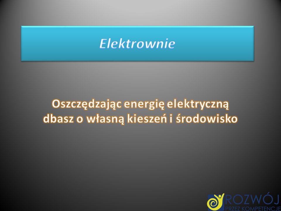 Oszczędzając energię elektryczną dbasz o własną kieszeń i środowisko