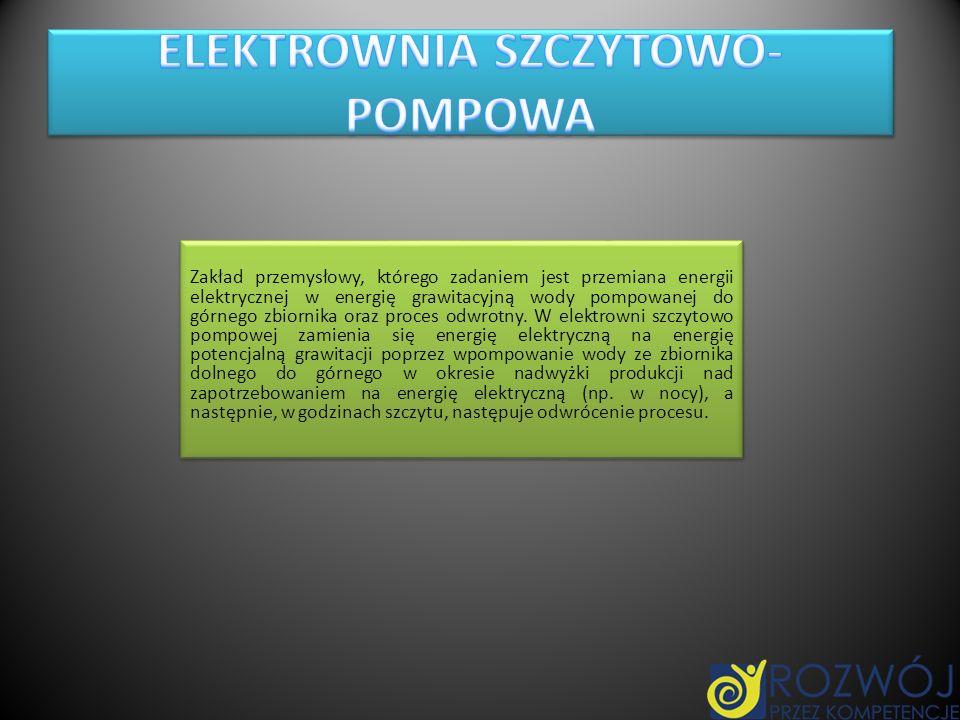 ELEKTROWNIA SZCZYTOWO-POMPOWA