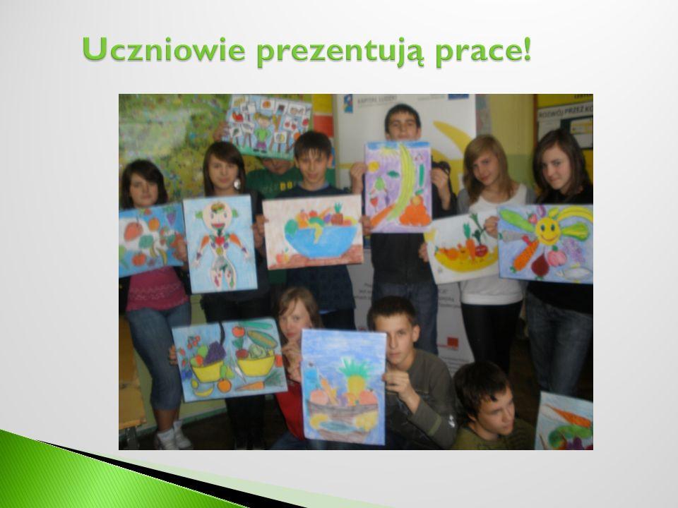 Uczniowie prezentują prace!