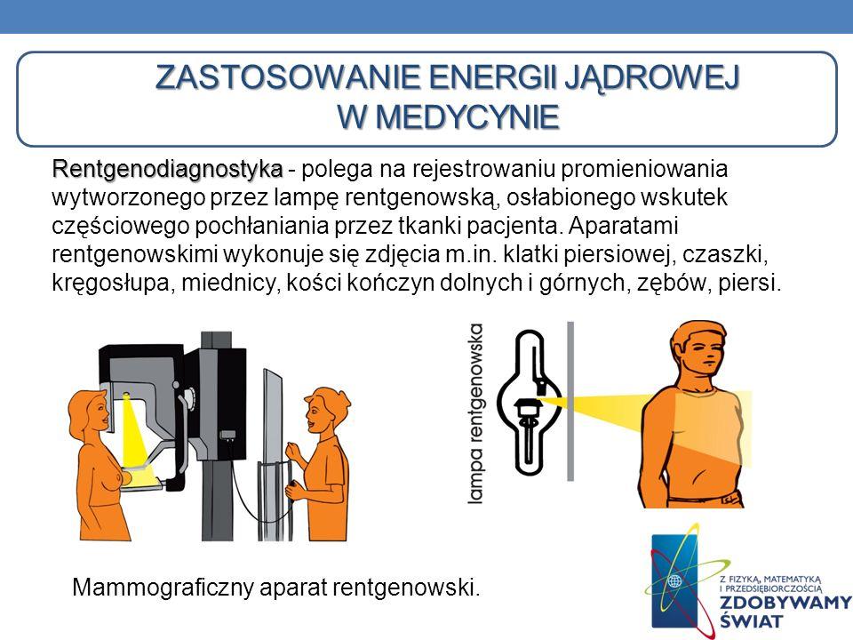 Zastosowanie energii jądrowej w medycynie