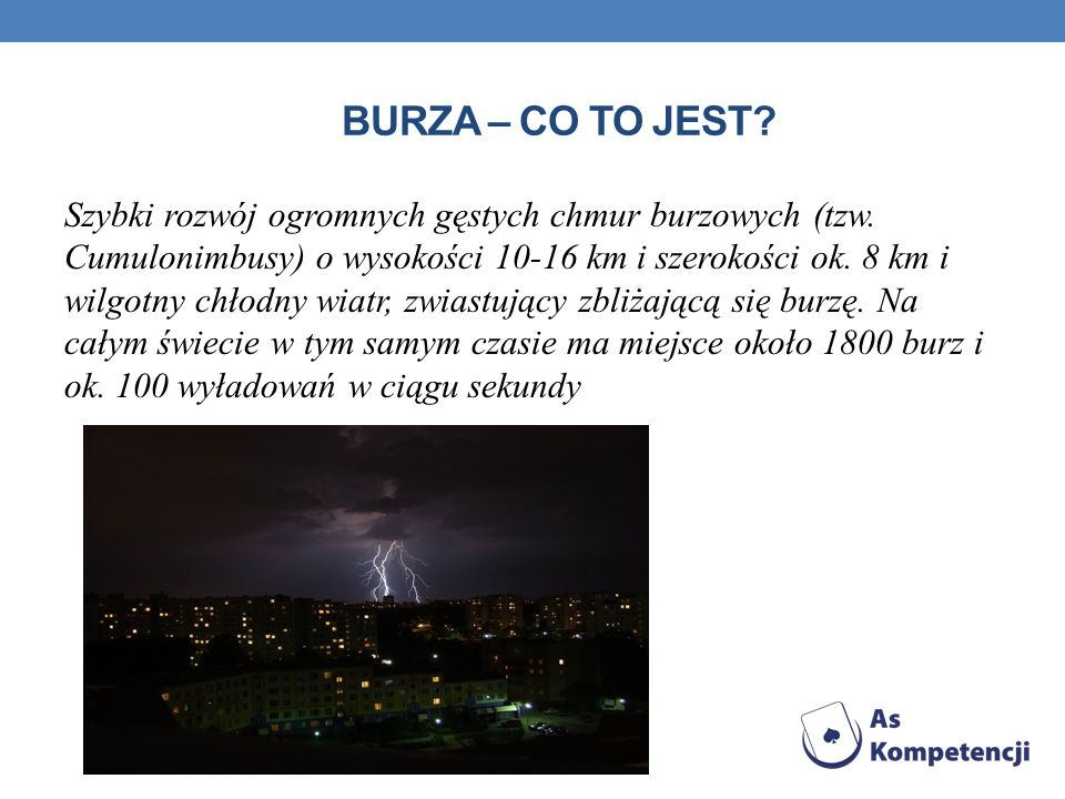Burza – co to jest