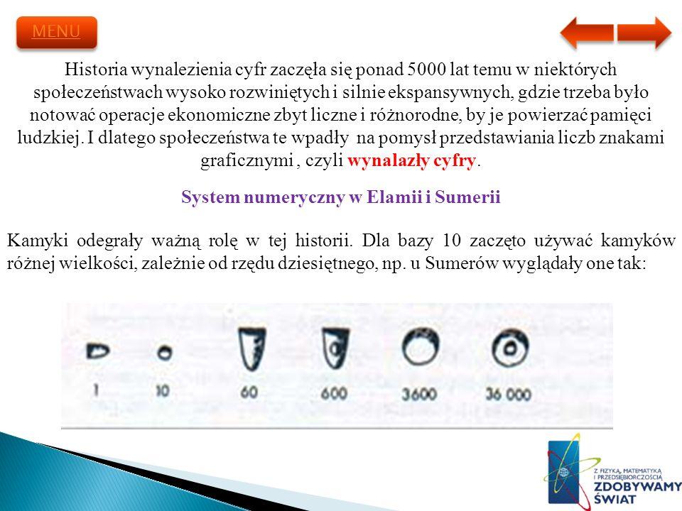 System numeryczny w Elamii i Sumerii