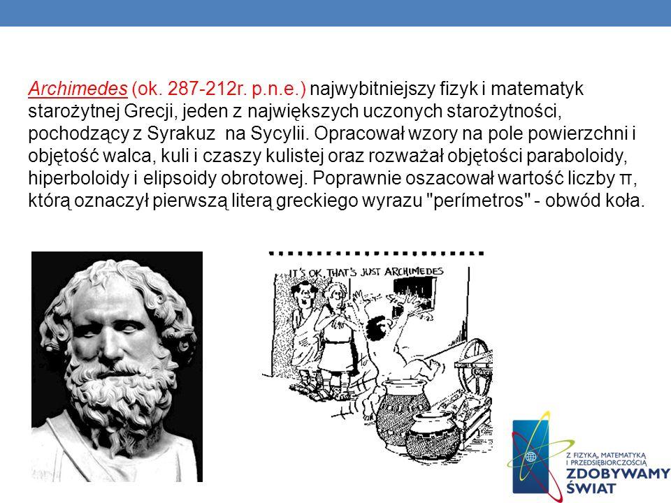 Archimedes (ok. 287-212r.