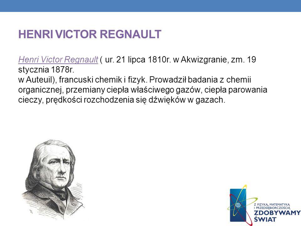 Henri victor regnault