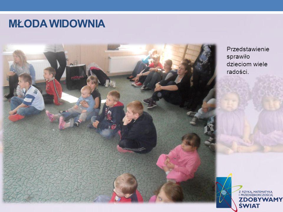 Młoda widownia Przedstawienie sprawiło dzieciom wiele radości.