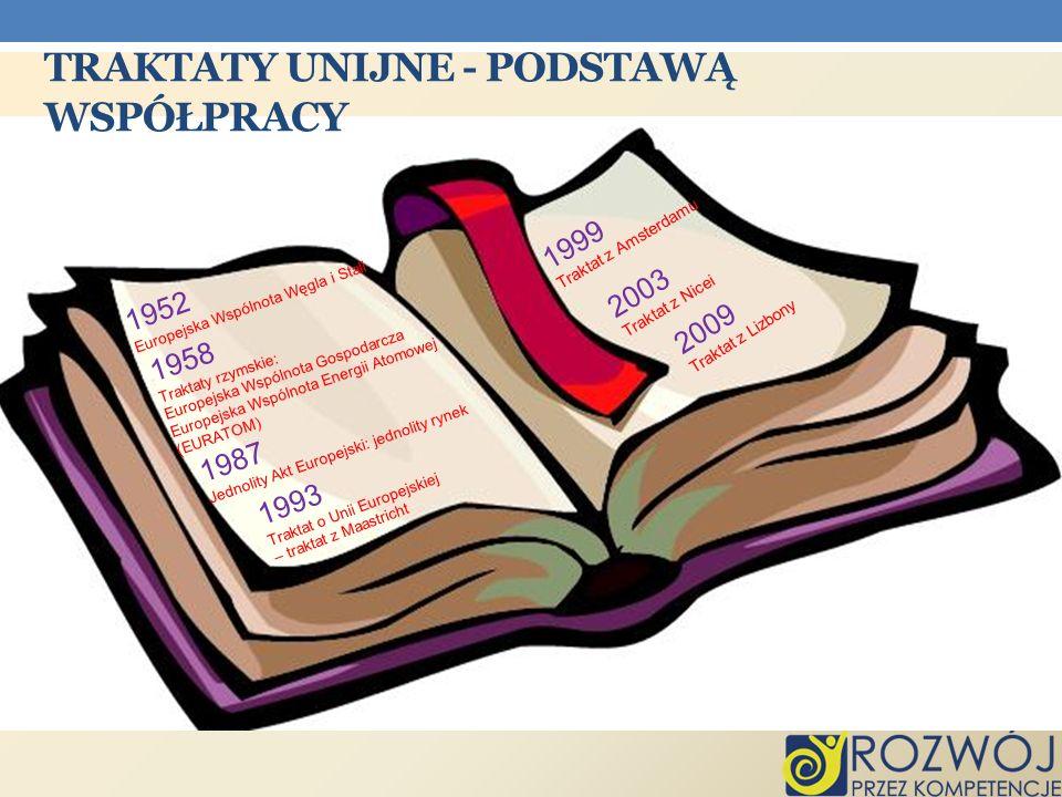 Traktaty unijne - podstawą współpracy
