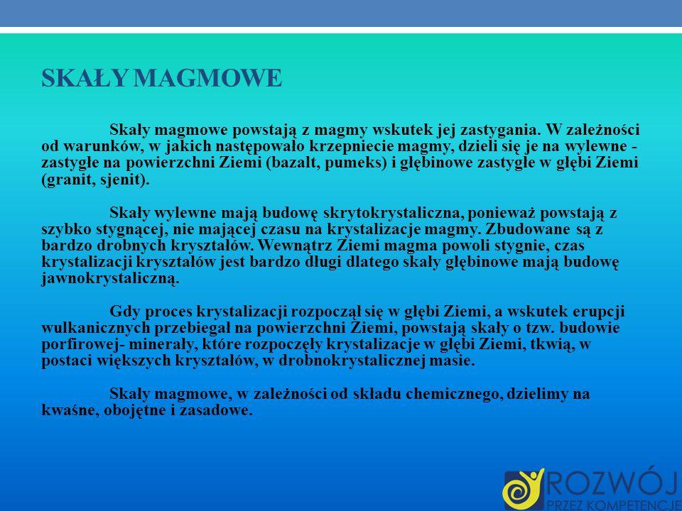 Skały Magmowe