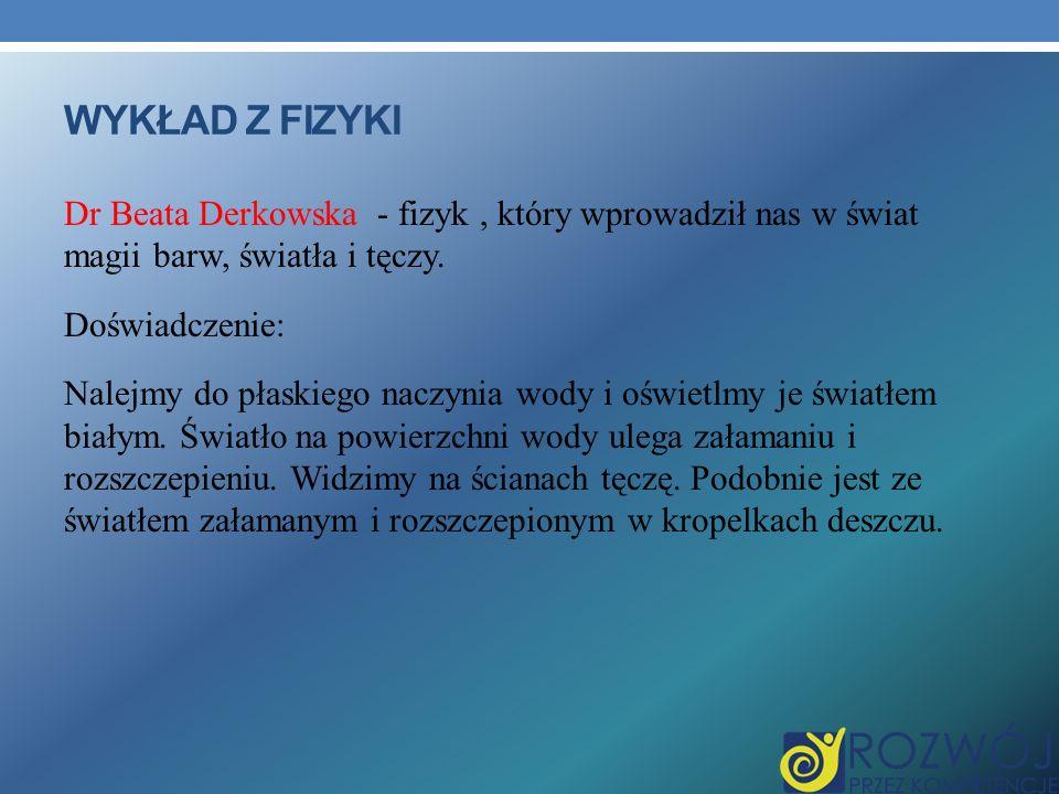 Wykład z fizyki