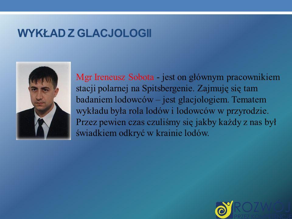 Wykład z glacjologii