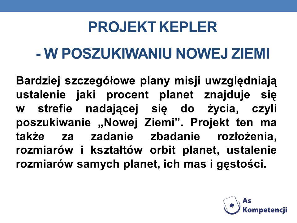 Projekt KEPLER - W poszukiwaniu nowej Ziemi