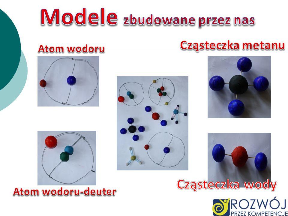 Modele zbudowane przez nas