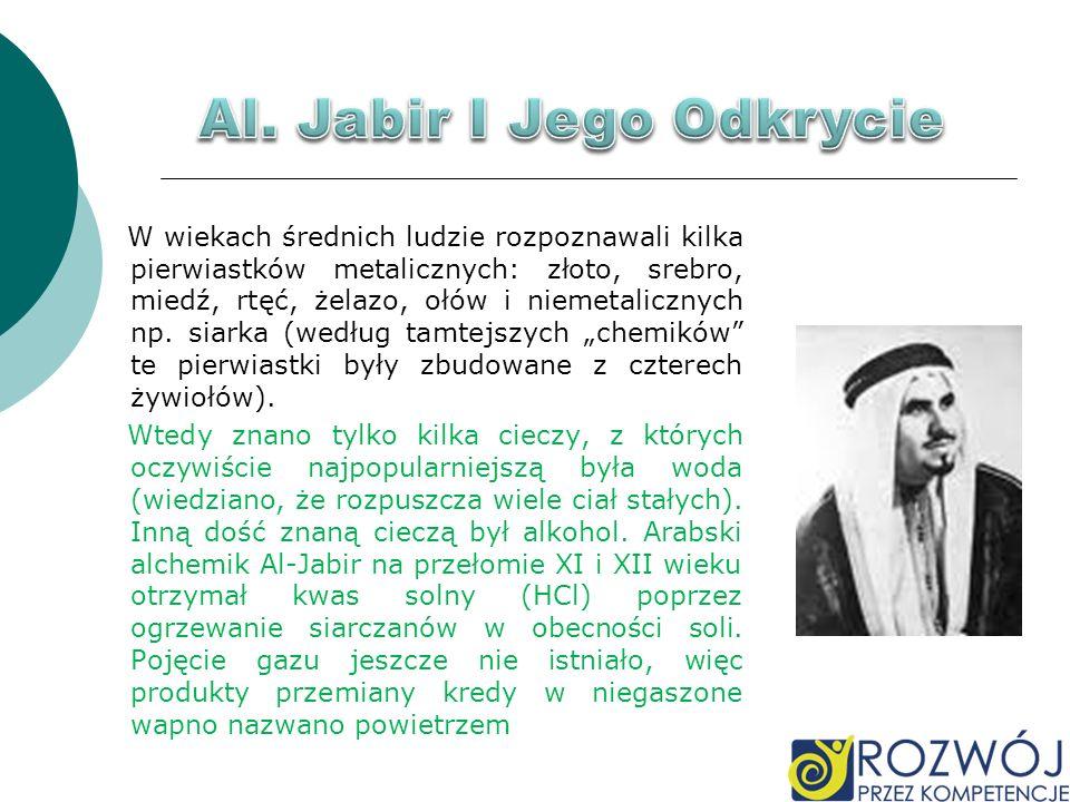 Al. Jabir I Jego Odkrycie