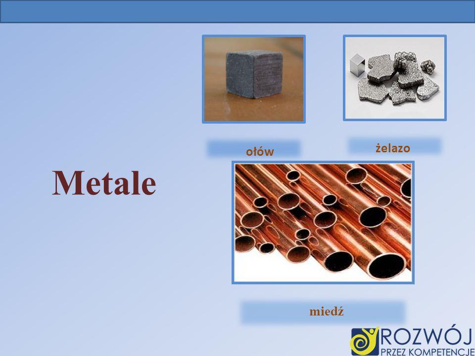 Ołów żelazo ołów Metale miedź