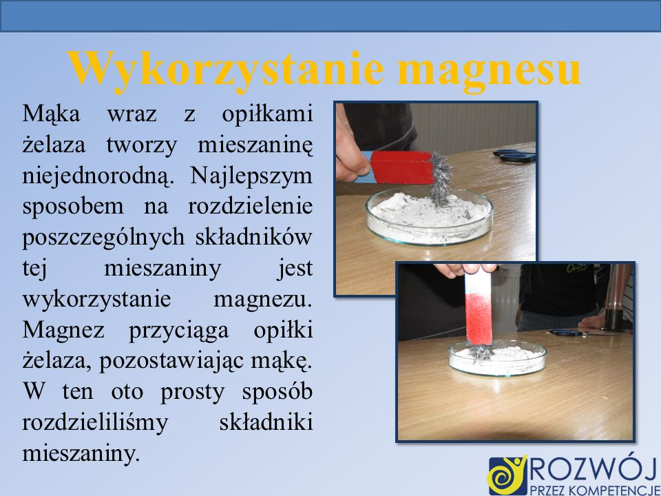 Wykorzystanie magnesu
