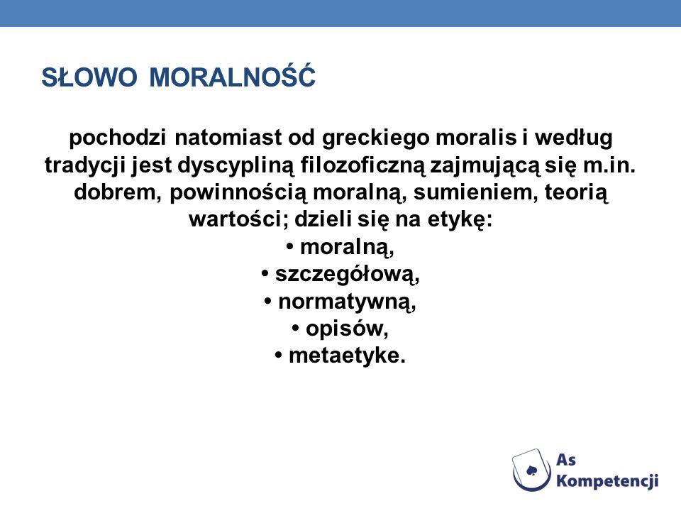 Słowo moralność