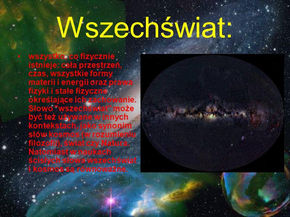 Wszechświat: