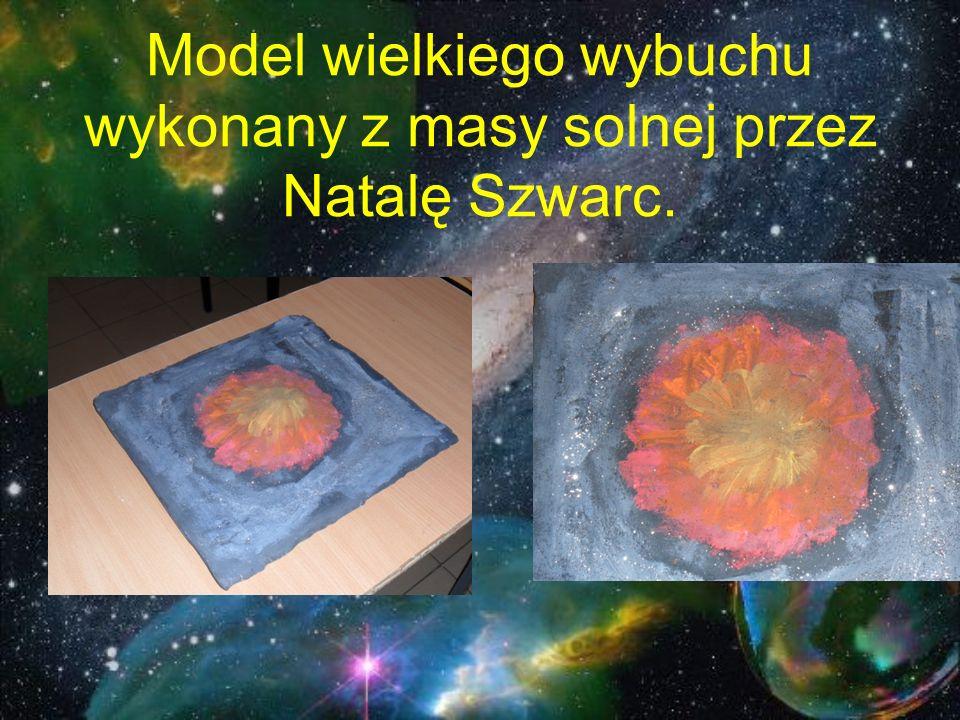 Model wielkiego wybuchu wykonany z masy solnej przez Natalę Szwarc.