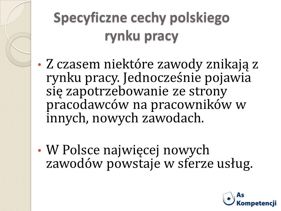 Specyficzne cechy polskiego rynku pracy