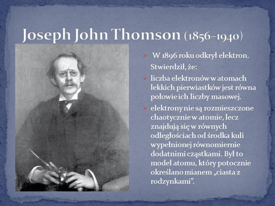 Joseph John Thomson (1856–1940)